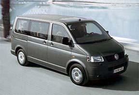 Volkswagen shuttle minivan